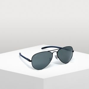 Ray-Ban Carbon Fiber Gunmetal Mirrored Sunglasses